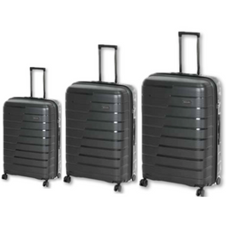 New Cellini Microlite Hardshell Set of 3 Spinners Black