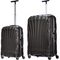 Samsonite Cosmolite Set of 2 Black (Cabin + 75cm)