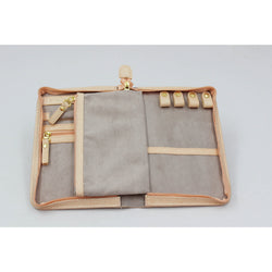 CaraMia Chloe Jewel Wallet Dusty Pink Stingray