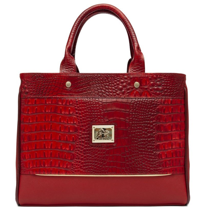 Cavalinho Cheval Red Handbag