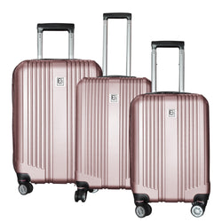 Eco Earth Paris Pro 3 Piece Luggage Set | Rose Gold