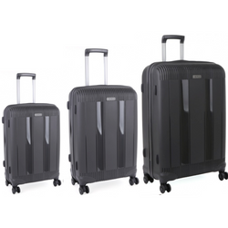 Cellini Rapido Set of 3 Trolley Cases Grey