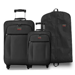 Eco Earth Havana 2 Piece Luggage Set including Suit Cover Carry Bag