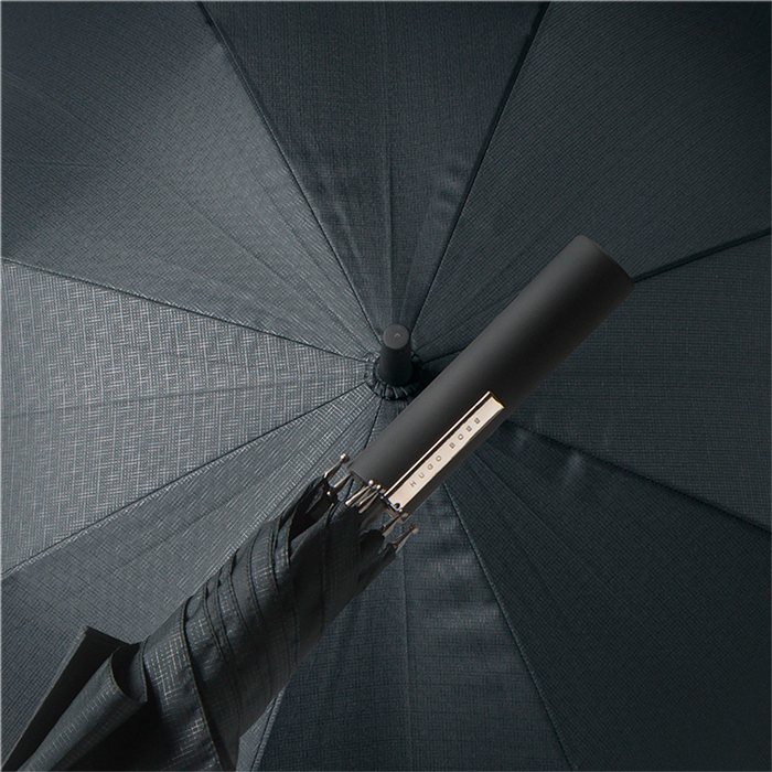 Hugo Boss Umbrella Grid City | Black