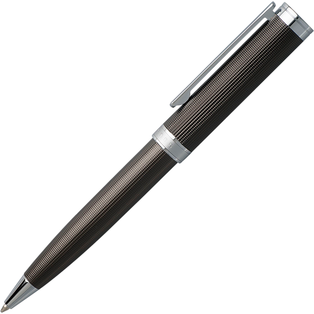 Hugo Boss Ballpoint Pen Column | Chrome - iBags.co.za
