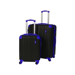 Eco Earth San Juan 2 piece ABS luggage set | Blue