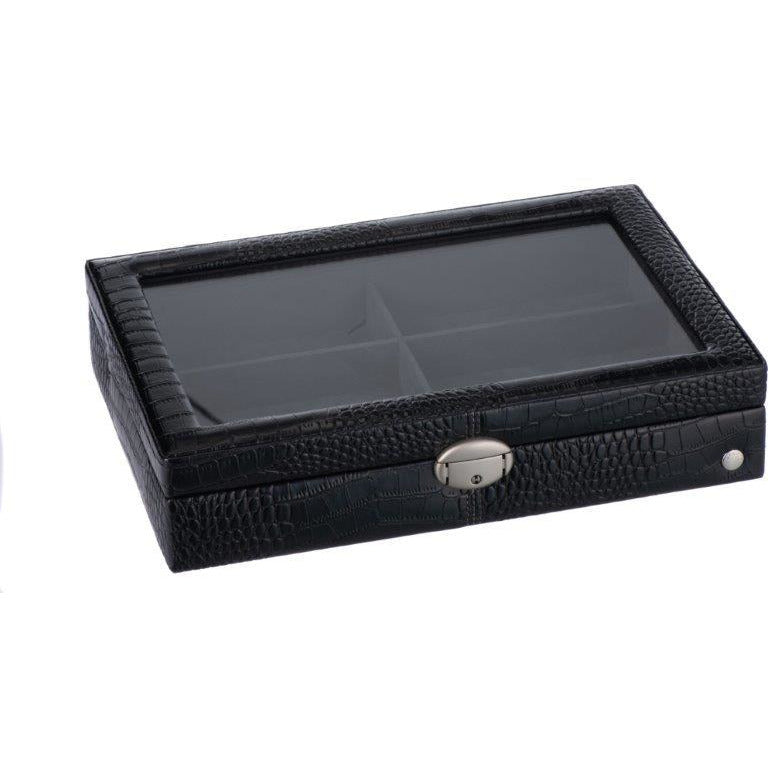 Caramia Lexi Accessory Box | Black Carbon Fiber
