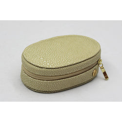 CaraMia Lily Oval Traveller Ivory Stingray
