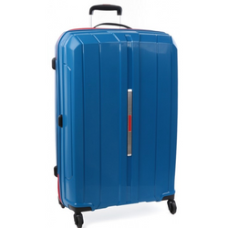 Cellini Cancun Hardshell 78cm Trolley Case Blue