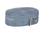 Caramia Madisson Oval Traveller | Navy Lizard