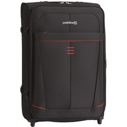 Paklite Superlite 48cm Upright Cabin Trolley | Black
