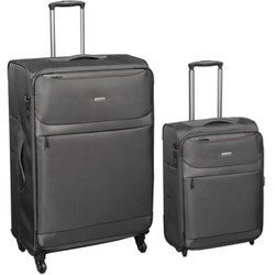Cellini Magnum Set of 2 Trolley Cases | Dark Grey