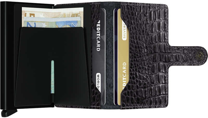 Secrid Miniwallet Nile Black - iBags.co.za