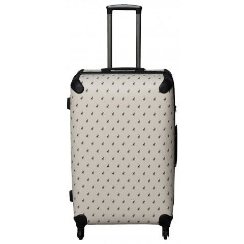 Polo Classic Double Pack Medium 4 Wheel Trolley Case Beige