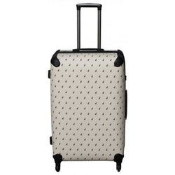 Polo Classic Double Pack Large 4 Wheel Trolley Case Beige