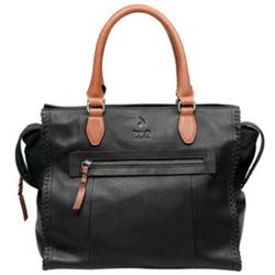 Polo Dune Leather Shopper Bag