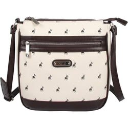 Polo Classic Crossbody Ladies Handbag Beige