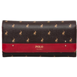 Polo Iconic Tri Fold Purse