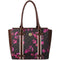 Polo Floral Heritage Tote Handbag Brown