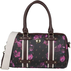 Polo Floral Heritage Barrel Handbag