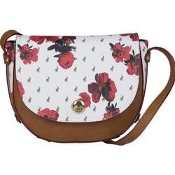 Polo Floral Heritage Flap Over Sling Handbag