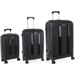 Cellini Rapido Set of 3 Trolley Cases Peach