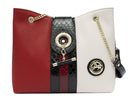 Cavalinho Red Black White Handbag