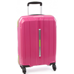 Cellini Cancun Hardshell 55cm Cabin Trolley Pink
