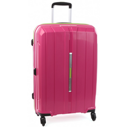 Cellini Cancun Hardshell 68cm Trolley Case Pink