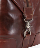 Jekyll & Hide Oxford Leather Duffel Bag | Tobacco