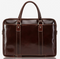 Jekyll & Hide RFID Oxford Leather Extra Large Business Briefcase | Tobacco