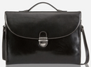 Jekyll and Hide Oxford Leather Slimline Briefcase | Black