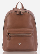 Jekyll & Hide Classic Capri Leather Backpack | Nut - iBags.co.za