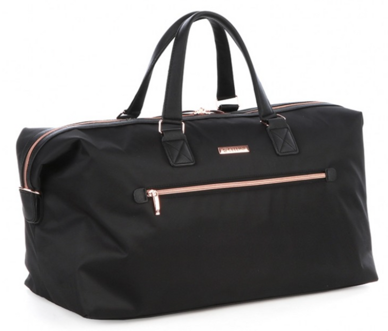Cellini Allure Ladies Weekender Duffle | Silk Black