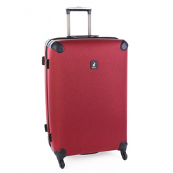 Polo Double Pack Large 4 Wheel Trolley Case | Red