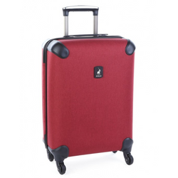 Polo Double Pack Cabin 4 Wheel Trolley Case | Red