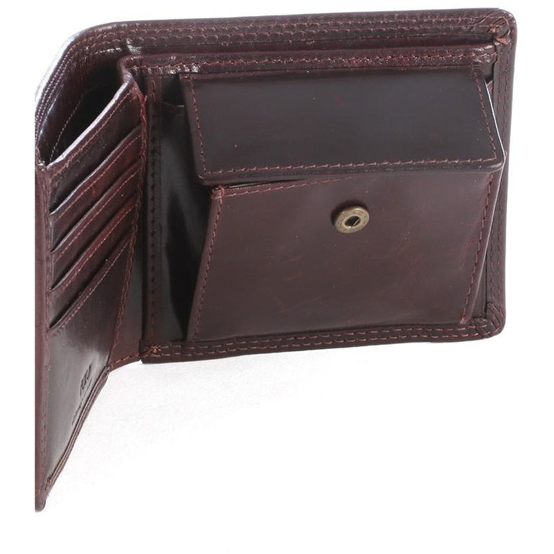 Polo Kenya Billfold with Coin Section | Brown