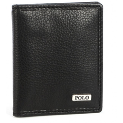 Polo Nappa Credit Card Holder | Black