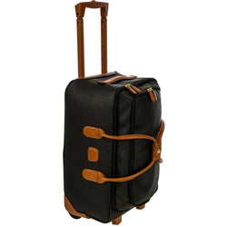 Bric's Magellano 55cm Carry-On Rolling Duffel Bag | Black