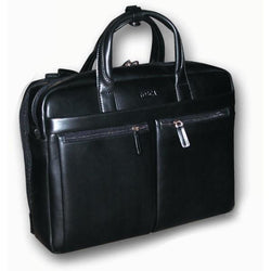 Tosca Multi-Compartment Mens Leather Laptop Bag
