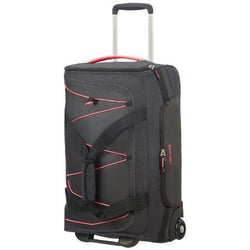 American Tourister Road Quest 2 Wheeled Duffel 55cm | Graphite/Pink