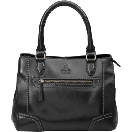 Polo Andes Leather Small Shopper