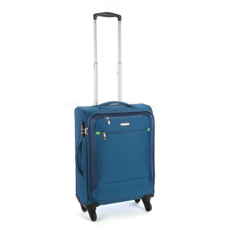 Cellini Carnival 550mm 4 Wheel Carry On | Blue