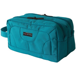 Gino De Vinci Zing 28cm Twin Compartment Wash Bag | Sea Green