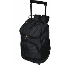 Tosca Round Base Trolley Backpack | Black