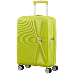 American Tourister Soundbox Spinner Expandable 55cm | Tropical Lime