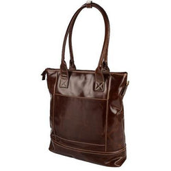 Dakota Leather Status Holdall Bag | Brown