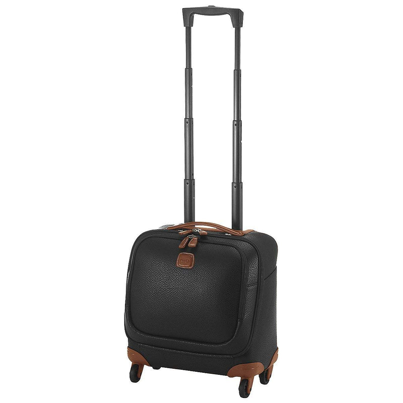 Bric's Magellano 4 Wheels Business Trolley 39 cm Black Brown