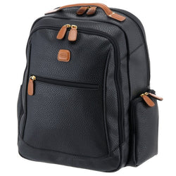 Brics Magellano Laptop Backpack 40 Cm - Black / Brown