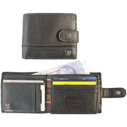 Busby Toulon Billfold Rfid Leather Wallet Tab
